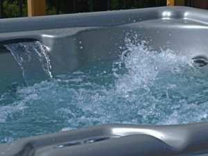 Hot tub splash