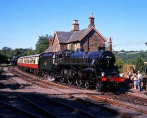 Stream train a Highley